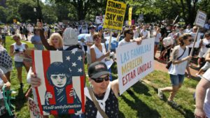 Pictures of Immigration Demonstrations